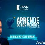 Javier Chirivella, protagonista del Aprende de los Mejores de Valencia