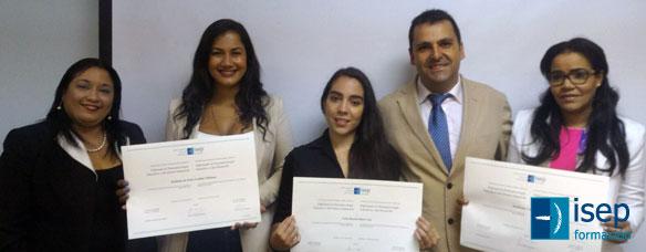 Entrega diplomas isep república dominicana