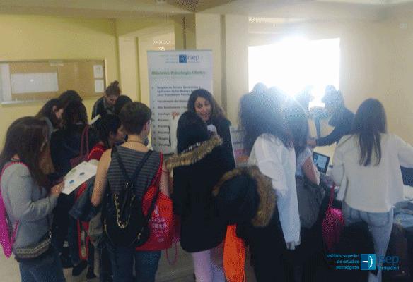 ISEP en el XI Congreso Nacional del Colectivo de Estudiantes de Psicología