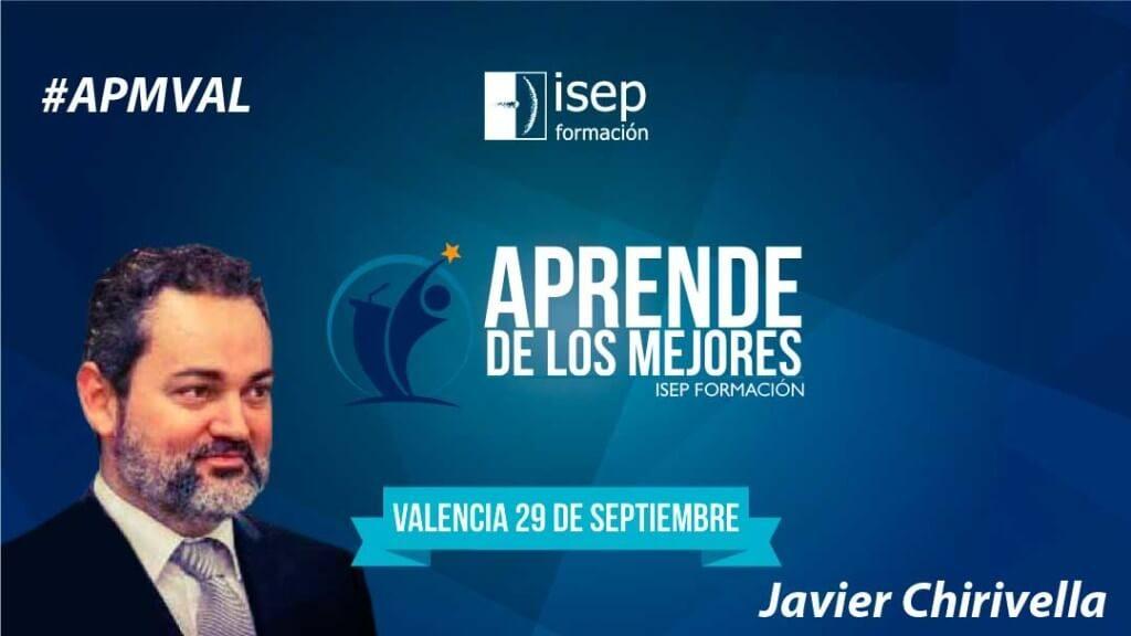 Javier Chirivell en  Aprende de los Mejores de Valencia
